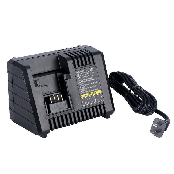 Battery Charger for Black & Decker, Craftsman and Porter Cable 20V Li-ion Battery Packs