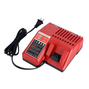 Battery Charger for Milwaukee 18V M18 Battery Packs